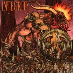 "Pushead- Integrity ""Humanity is the Devil"""