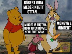 A robert gida egy pedo név! #micimackó #pedofil  #Róbertgida #viccek #lol #poén #Agyzsibbasztó Winnie The Pooh, Disney Characters, Fictional Characters, Lol, Photo And Video, Videos, Instagram, Winnie The Pooh Ears, Fantasy Characters