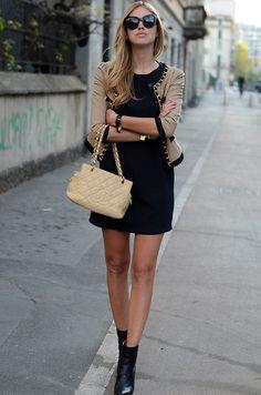 Bulgari event: the outfit (by Chiara Ferragni) http://lookbook.nu/look/3278533-Bulgari-event-the-outfit