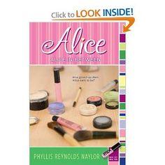 Alice In-Between: Phyllis Reynolds Naylor: 9781416967705: Amazon.com: Books