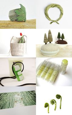 Nature in green by Natalia on Etsy--Pinned with TreasuryPin.com