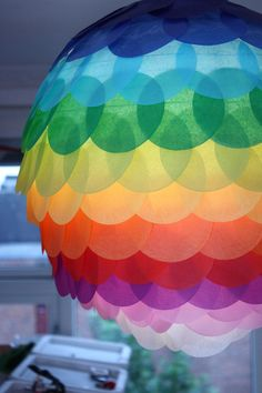 Pimp your apartment with a stylish paper lantern - Beautiful and simple DIY ideas for Chinese lanterns Ikea Hacks & Pimps Diy Simple, Easy Diy, New Swedish Design, Deco Originale, Ikea Bedroom, Diy Home Decor Projects, Paper Lanterns, Ikea Lanterns, Hacks Diy