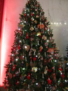 norwegian christmas tree are decorated with norwegian flags homemade decorations like santa angels - Norwegian Christmas Decorations
