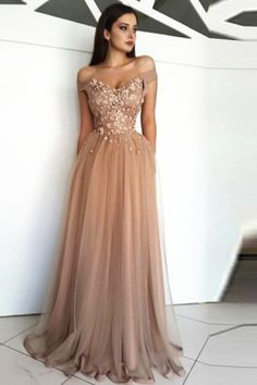 a83c831a013 Long Appliques Beading Prom Dress. vanitypotionboutique · Prom Dress. Vanity  Potion boutique