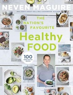 The Nation's Favourite Healthy Food - Irish Book Awards 2015 Shortlist - Awards - Books Healthy Alternatives, Healthy Options, Healthy Recipes, Irish Recipes, Soup Recipes, Cookbook Recipes, Carb Free Lunch, Stuffed Pepper Soup, Stuffed Peppers