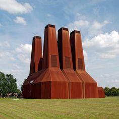 Heat Plant by Zeinstra Van der Pol Architects// Utrecht, The Netherlands  #industrial architecture #corten steel