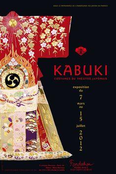 Kabuki  Costumes du théâtre japonais