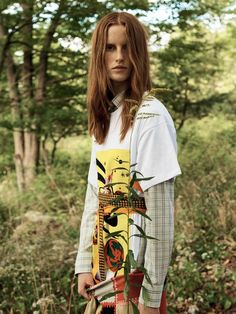 Magdalena Jasek Is 'Free To Roam' Lensed By Jan Welters For Elle UK January 2017 — Anne of Carversville  http://www.anneofcarversville.com/style-photos/2016/12/18/magdalena-jasek-is-free-to-roam-lensed-by-jan-welters-for-elle-uk-january-2017