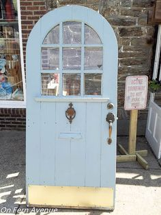 Sliding Pantry Door - I found this door while browsing online looking for a salvage place.  I was looking for unusual items for our home as we were rebuilding.…