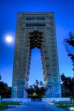Kyongju Tower, South Korea by Divonsir Borges