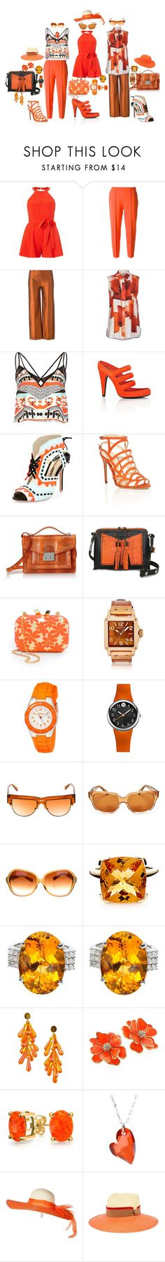 """A celebration of spring"" by blujay1126 ❤ liked on Polyvore featuring Miss Selfridge, Kolor, Romeo Gigli, CÉLINE, River Island, Alexander Wang, Sophia Webster, Alexandre Birman, Loeffler Randall and Carianne Moore"