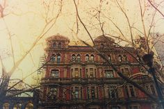 An old Sydney building on a winter's day through the eyes of Photoshop photography Annie Original, Photo Retouching, Winter Day, Sydney, Photoshop, Graphic Design, Architecture, Illustration, Photography