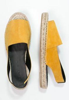 Femme Zalando Iconics Sandales à plateforme - yellow jaune: 60,00 € chez Zalando (au 06/04/16). Livraison et retours gratuits et service client gratuit au 0800 740 357.