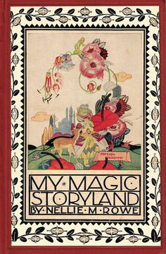 My Magic Storyland cover illus by James McCracken by katinthecupboard, via Flickr