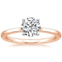 14K Rose Gold Petite Quattro Ring from Brilliant Earth