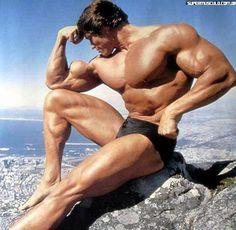 Fotos Raras de Arnold Schwarzenegger - Parte I | Super Musculo