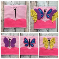 Butterfly page quiet busy book Bebito Store Free shipping