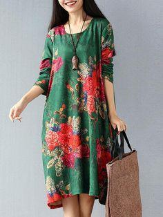 Floral Printed Women Dresses