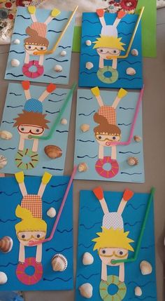 Divers Divers The post Divers appeared first on Knutselen ideeën. Divers Divers The post Divers appeared first on Knutselen ideeën. Daycare Crafts, Classroom Crafts, Toddler Crafts, Preschool Crafts, Fun Crafts, Diy And Crafts, Arts And Crafts, Paper Crafts, Diy Paper