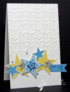 Simply Stars by stampercamper - Cards and Paper Crafts at Splitcoaststampers