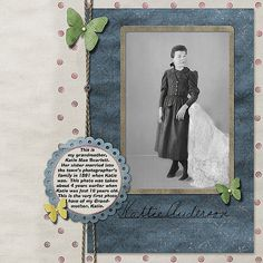 digital heritage layout by LauraLou