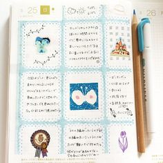 like the page division Life Journal, Journal Pages, Journal Ideas, Hobonichi Ideas, Hobonichi Techo, How To Make Notes, Journal Entries, Bullet Journal Inspiration, Travelers Notebook