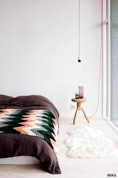 Low energy bulb by Plumen.