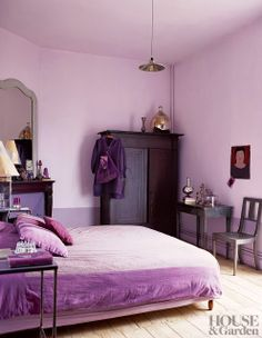 INSPIRATION:Radiant Orchid, Pantone color of the year 2014
