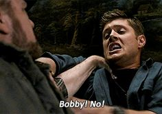 The three most important men in Dean's life (his Dad, his other Dad (Bobby) and Sam) have all attacked Dean while possessed, and he never fought them because he feels he deserved it because he couldn't save them in the first place, but all three times, their love for Dean was stronger than the possession.
