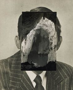 """John Stezaker's collages: maximum resonance with limited means: Observatory: Design Observer    I'm looking for the sublime, in many ways. And I think that the uncanny is a miniature version of that.   John Stezaker from """"Demand the Impossible,"""" interview by Michael Bracewell, Frieze, March 2005"""