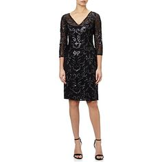 Adrianna Papell V-Neck Sequin Cocktail Dress 429cd576dc594
