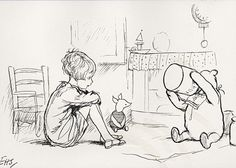 silly old bear . . . . A.A.  Milne - Pooh