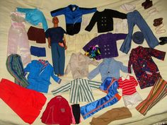 Malibu Ken Barbie Clothes