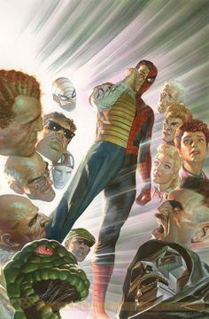 COMICS: Another Stunning Alex Ross Cover For AMAZING SPIDER-MAN: LEARNING TO CRAWL