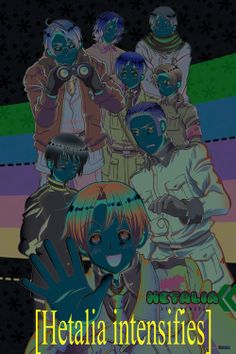 Hetalia where it shouldn't be... OH MY GOD WHAT? TURN THE NEGATIVES OFF TURN THE NEGATIVES OFF.<<<THIS IS HORRIFYING