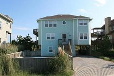 Oceanside Outer Banks Rentals | Ocean Sands Rentals | Captain's Cabin @Morgan Berg THIS IS THE ONE NEXT TO THE BOYS HOUSE I THINK