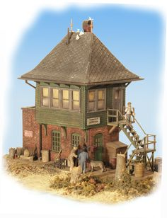 Railroad Line Forums - Fine Scale Miniatures Kit #30 Signal Tower