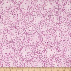 Bali Batiks Dotty Rings Lilac from @fabricdotcom  Designed for Hoffman International Fabrics, this Indonesian batik panel is perfect for quilting, craft projects, apparel and home décor accents.  Colors include shades of purple.