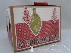 Stampin Up Weihnachten Ornament Keepsakes Santa Geschenkbox Alphabet 01