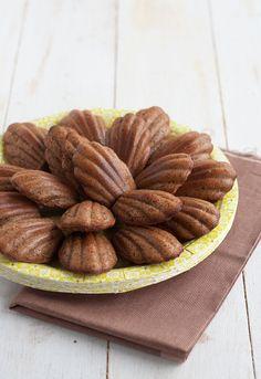 MADELEINES  de chocolate, café y naranja  http://www.unodedos.com/recetario-de-cocina/receta-de-madeleines-de-chocolate-cafe-y-naranja/
