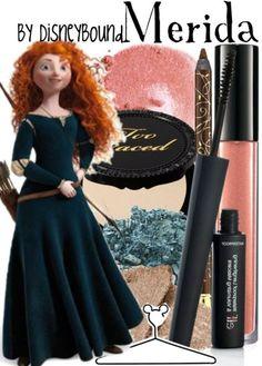 Brave: Merida Make up