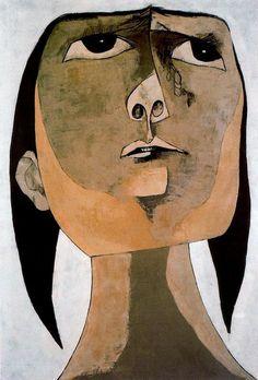 Homenaje a Tania n. 2 (1969) - Oswaldo Guayasamín