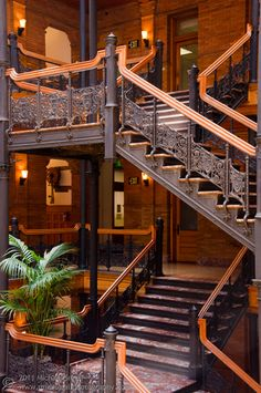 Bradbury Building - Stair Case