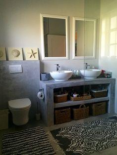Loft Interior Design, Dream House Interior, Bathroom Interior Design, Industrial Kitchen Design, Rustic Industrial Decor, Tranquil Bathroom, Concrete Bathtub, Building A Container Home, Adobe House