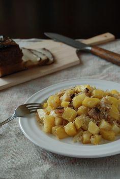 Strapacky - potatoes, bacon, sauerkraut   Almost Bananas