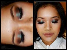 "Makeup Tutorial Using MAC's Blue Brown Pigment I makeupbyritz ♡ EYES ♡ -MAC Paint Pot in ""layin low"": -MAC ""saddle"" eyeshadow: -MAC ""brun"" eyeshadow: -NYX Jumbo Eye Pencil in ""milk"": -MAC Pigment in ""blue brown"": -MAC Zoom Lash: -Tarte Best in Faux lash Extending Fibers: -NYC Liquid Liner: -House of Lashes Pixie Luxe: -Urban Decay 24/7 liner in ""zero"": -Bobbi Brown Corrector in ""dark peach"": -MAC Prolongwear Concealer in ""NW25"":"