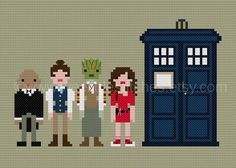 Pixel People The Doctor's Companions 2 PDF by weelittlestitches