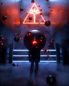 Cyberpunk Aesthetic, Cyberpunk City, Japanese Art Samurai, Tech Art, Beautiful Fantasy Art, Retro Futuristic, Imagine Dragons, Imagines, Sci Fi Art