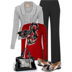 A fashion look from January 2013 featuring BKE tops, Jigsaw pants and Madison Harding loafers. Browse and shop related looks.