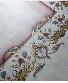 Turkish Design, Turkish Art, Islamic Art Canvas, Canvas Art, Islamic Art Pattern, Pattern Art, Art Sketches, Art Drawings, Moroccan Art